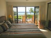 A107 - Master Bedroom - King Bed with Ocean View and Walk-out Lanai